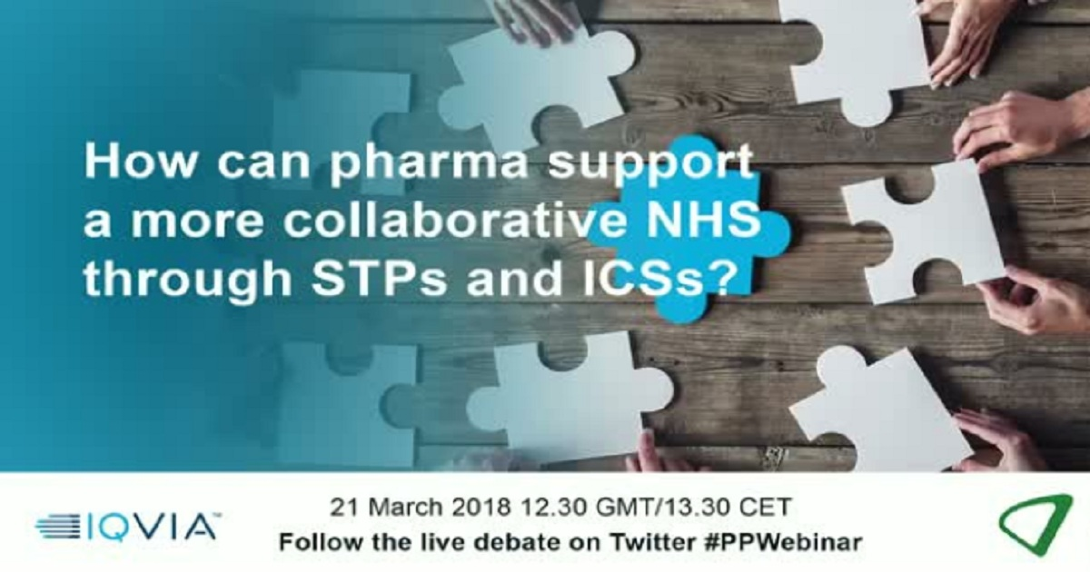 How can pharma support a more collaborative NHS through STPs and ICSs?