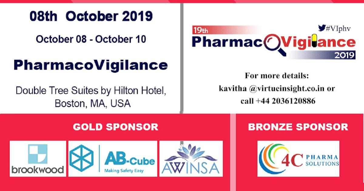 19th Pharmacovigilance 2019