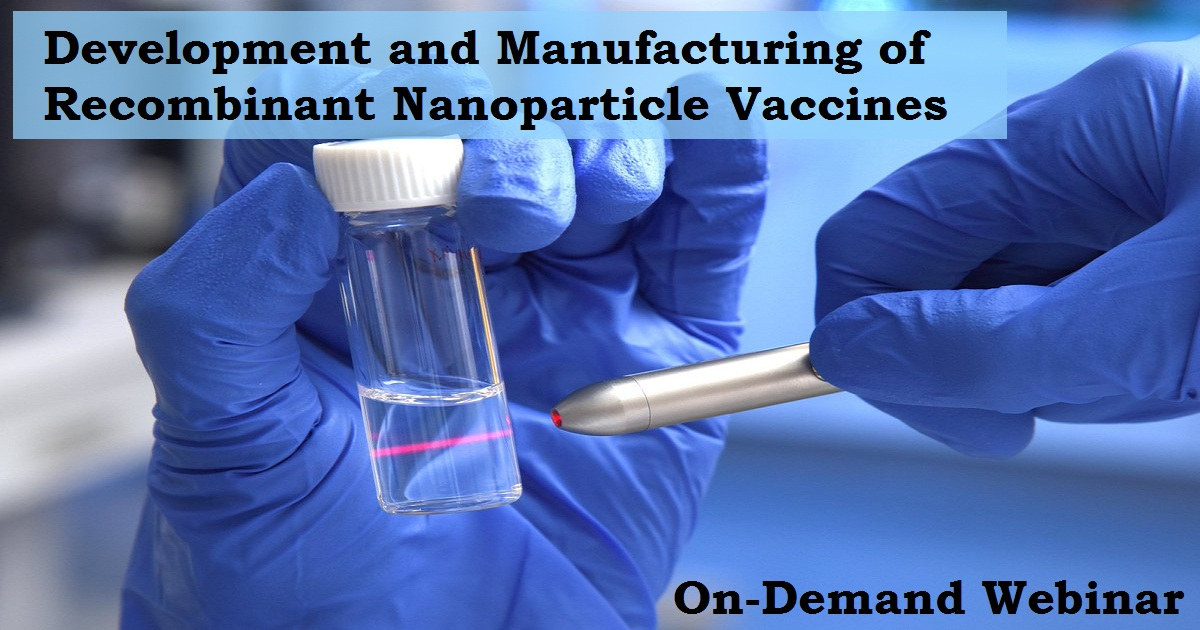 Development and Manufacturing of Recombinant Nanoparticle Vaccines