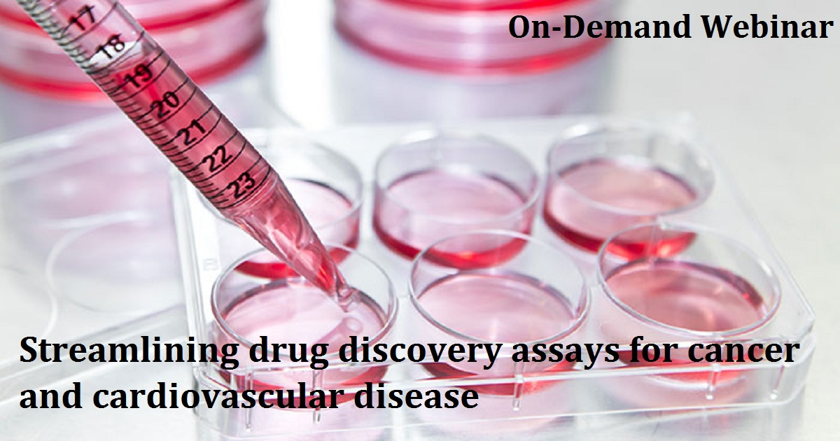 Streamlining drug discovery assays for cancer and cardiovascular disease