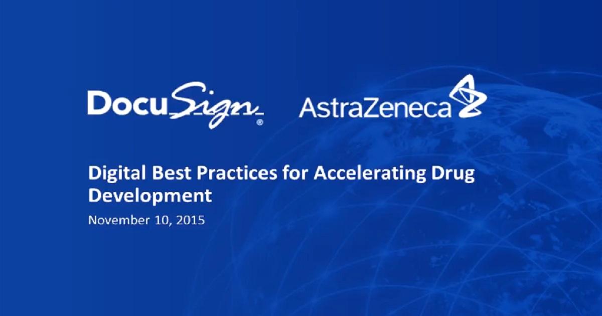 Digital Best Practices for Accelerating Drug Development