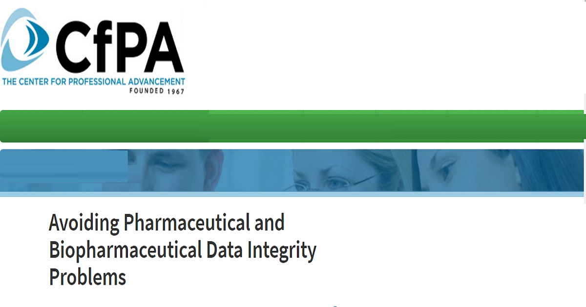 Avoiding Pharmaceutical and Biopharmaceutical Data Integrity Problems