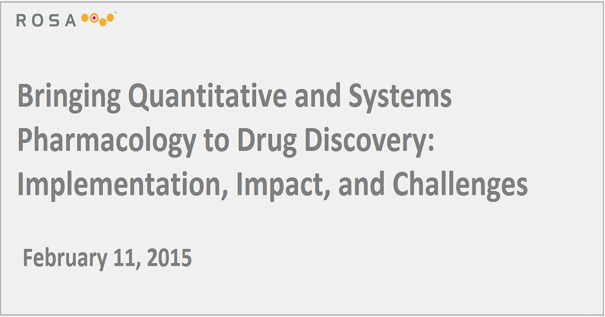 Bringing Quantitative and Systems Pharmacology to Drug Discovery: Implementation, Impact, and Challenges