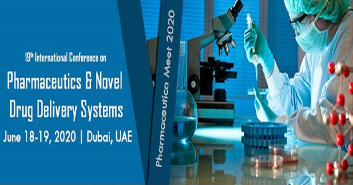 19th International Conference on Pharmaceutics & Novel Drug Delivery Systems