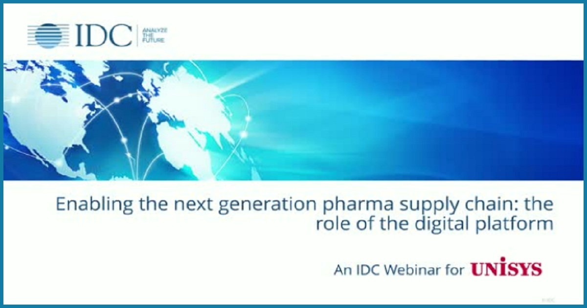 Enabling Next Generation Pharma Supply Chain: The Role of the Digital Platform