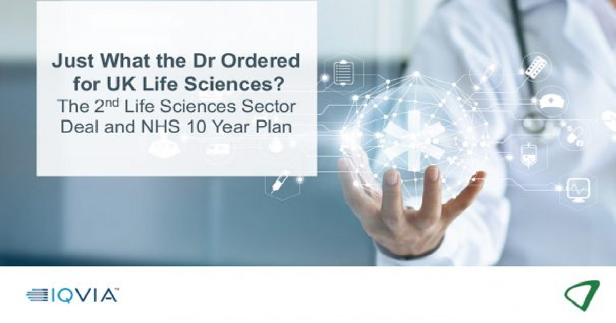 The 2nd Life Sciences Sector Deal and the NHS 10 Year Plan