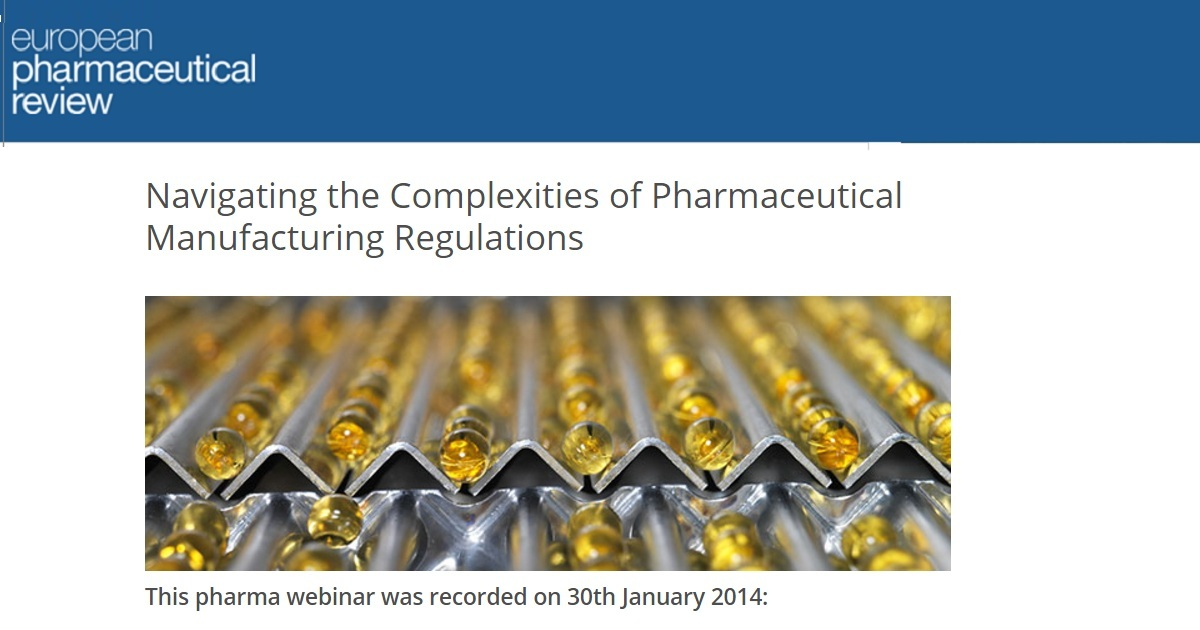 Navigating the Complexities of Pharmaceutical Manufacturing Regulations