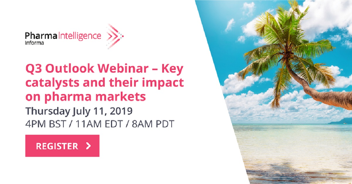 Q3 Outlook Webinar - Key Catalysts and their Impact on Pharma Markets
