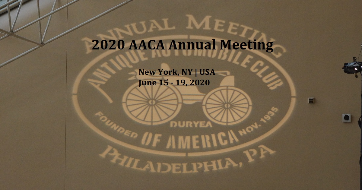 2020 AACA Annual Meeting