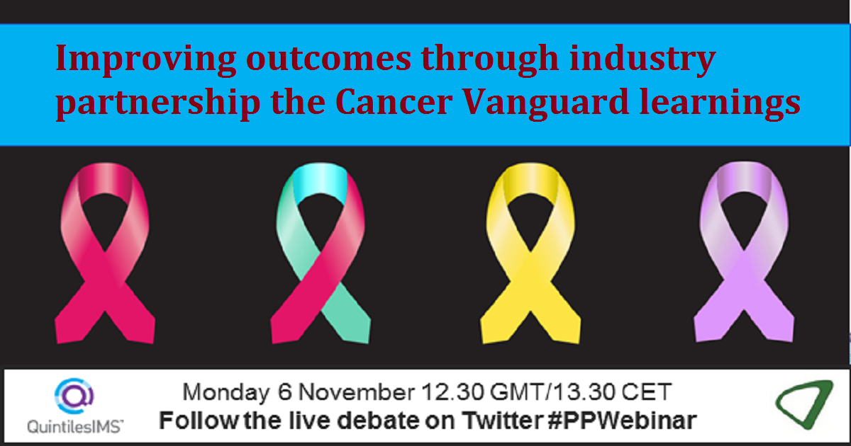 Improving outcomes through industry partnership - the Cancer Vanguard learnings