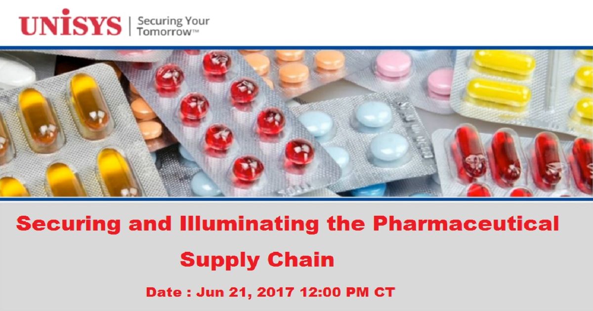 Securing and Illuminating the Pharmaceutical Supply Chain