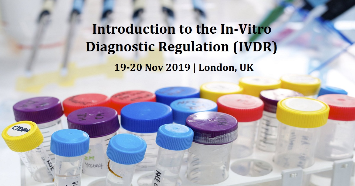 Introduction to the In-Vitro Diagnostic Regulation (IVDR)