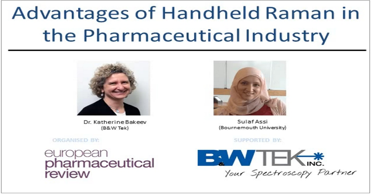 Advantages of Handheld Raman in the Pharmaceutical Industry