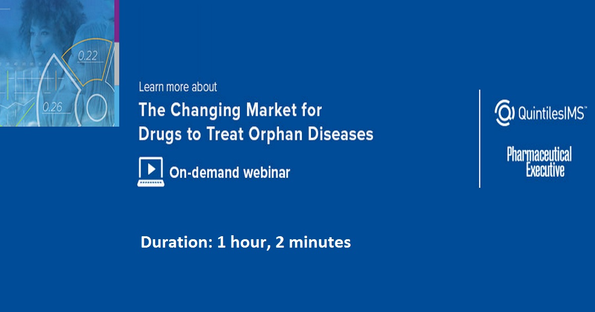 The Changing Market for Drugs to Treat Orphan Diseases