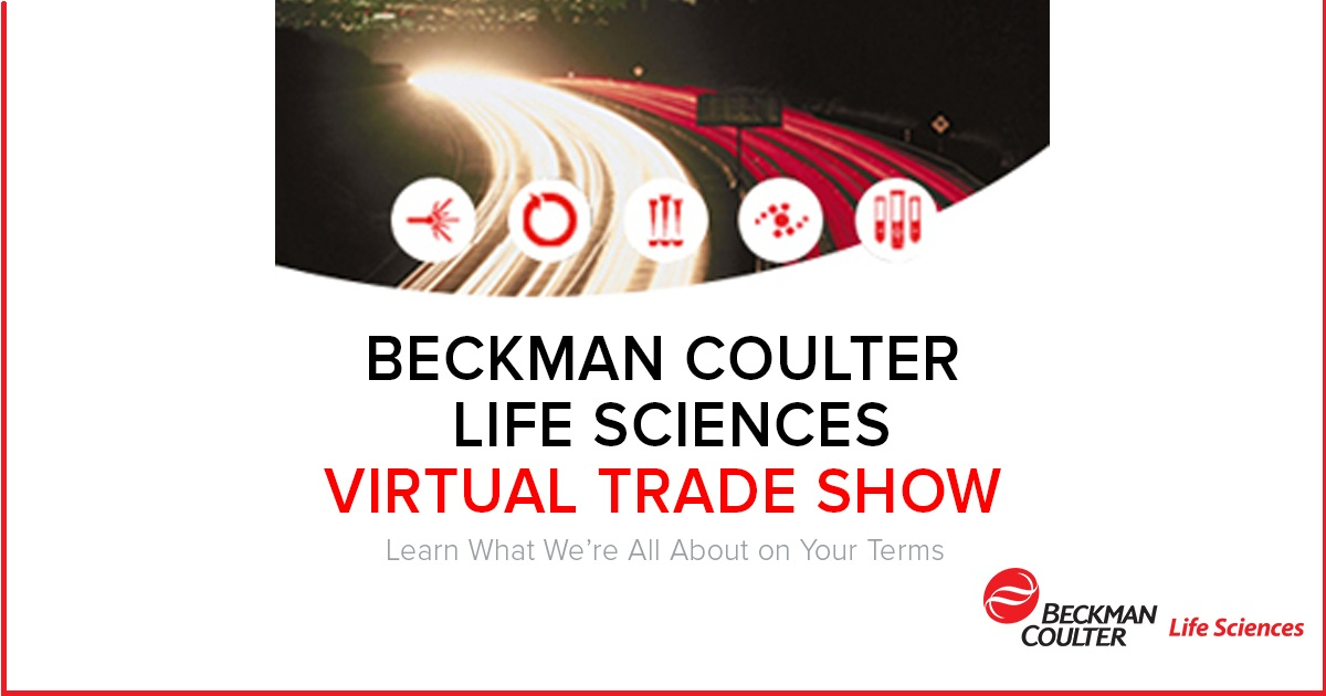 Beckman Coulter Life Sciences Virtual Trade Show
