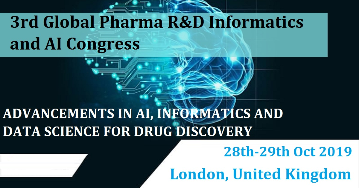 3rd Global Pharma R&D Informatics and AI Congress