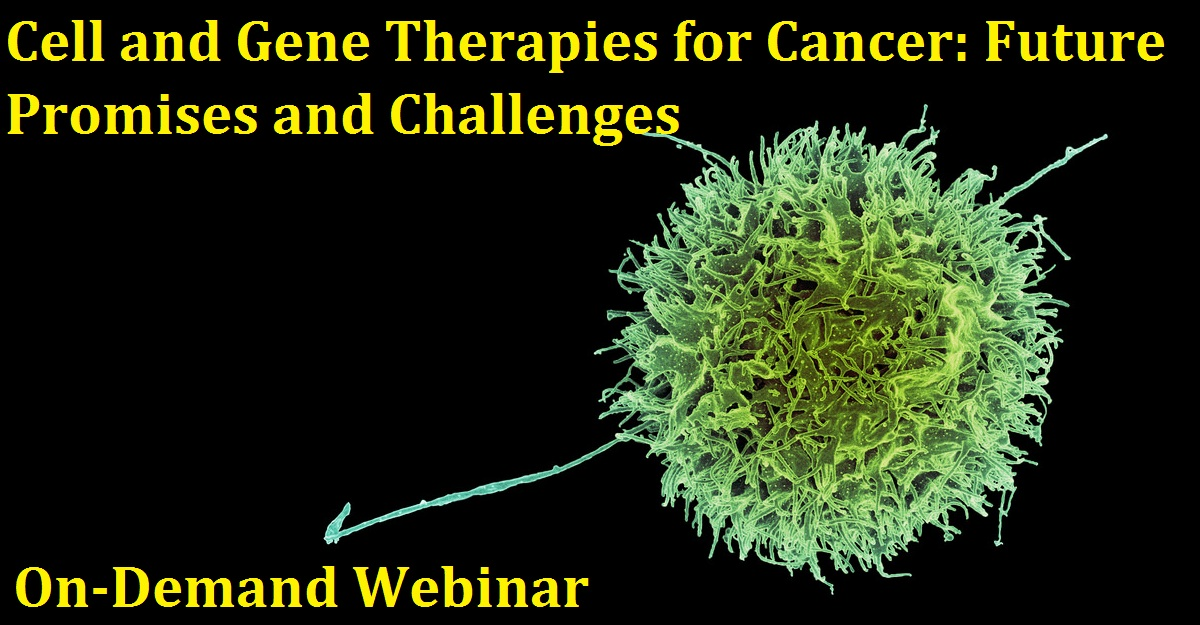 Cell and Gene Therapies for Cancer: Future Promises and Challenges