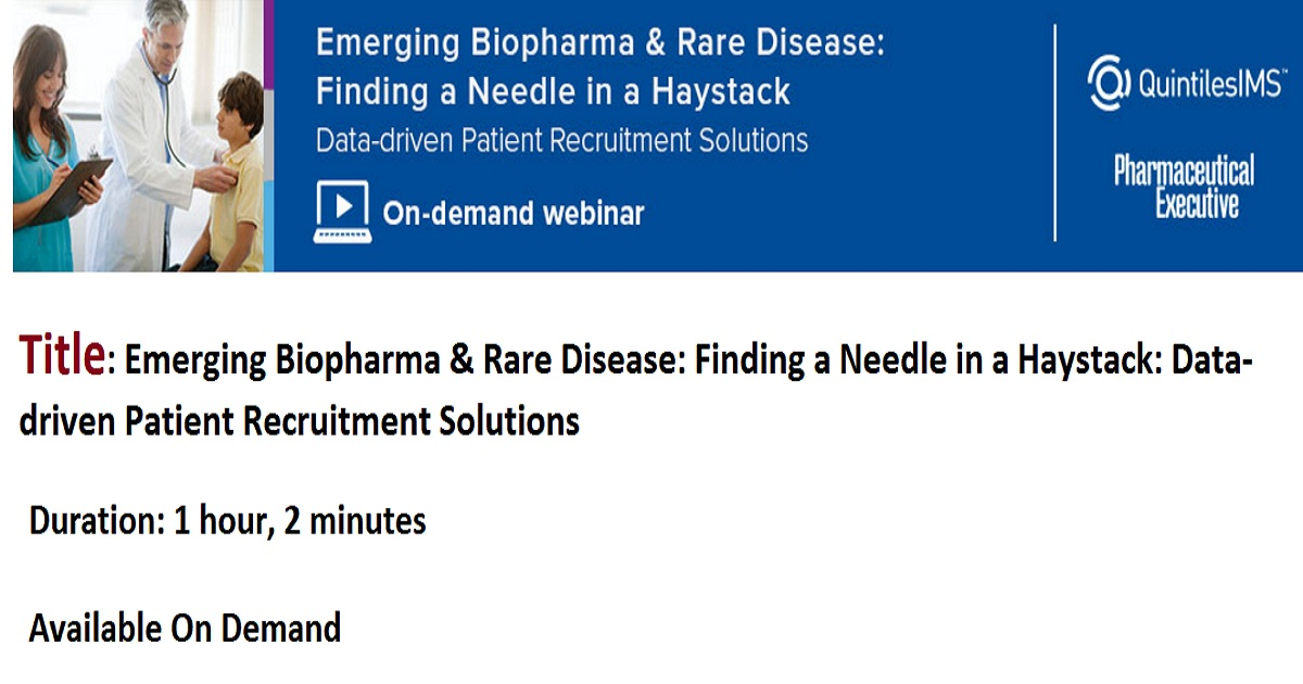 Emerging Biopharma and Rare Disease: The Top 5 Patient Engagement Solutions