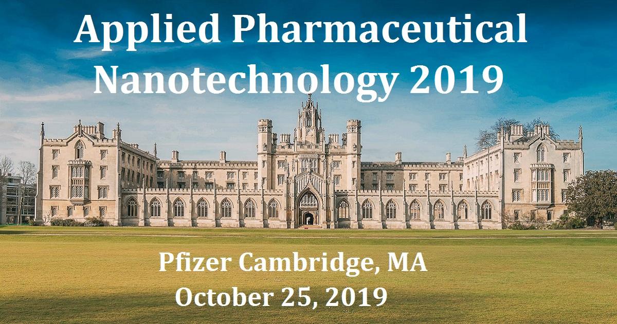 Applied Pharmaceutical Nanotechnology 2019