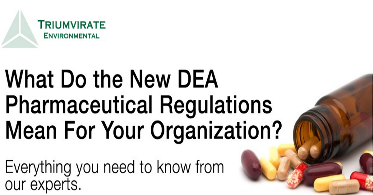 What Do the New DEA Pharmaceutical Regulations Mean For Your Organization?
