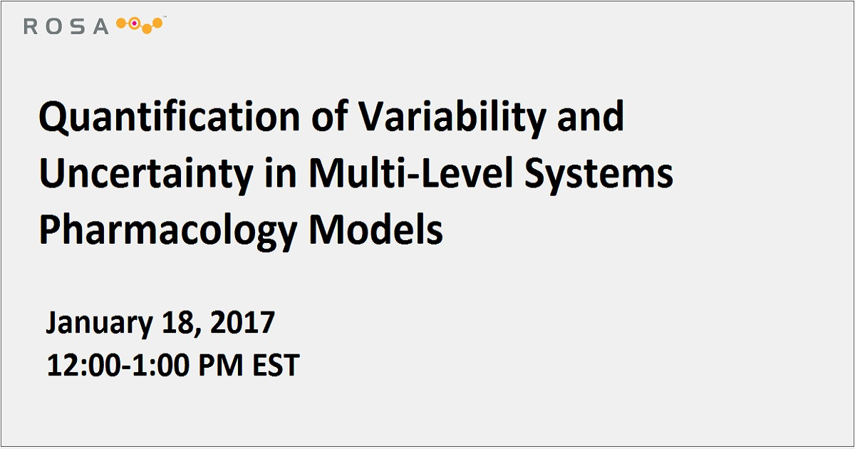 Quantification of Variability and Uncertainty in Multi-Level Systems Pharmacology Models