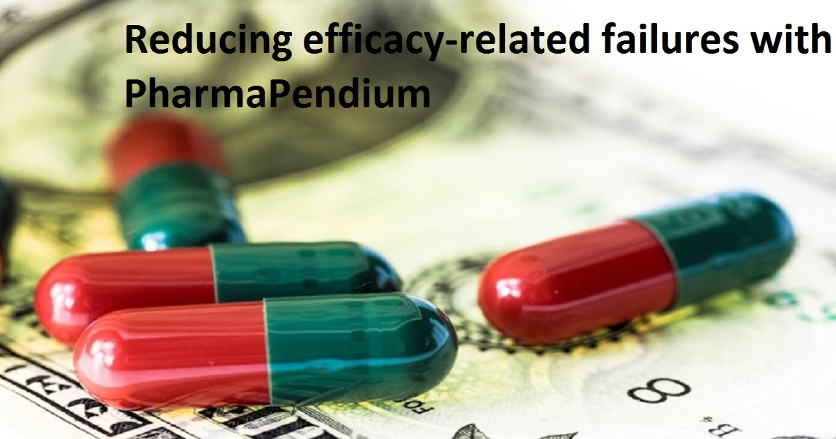 Reducing efficacy-related failures with PharmaPendium
