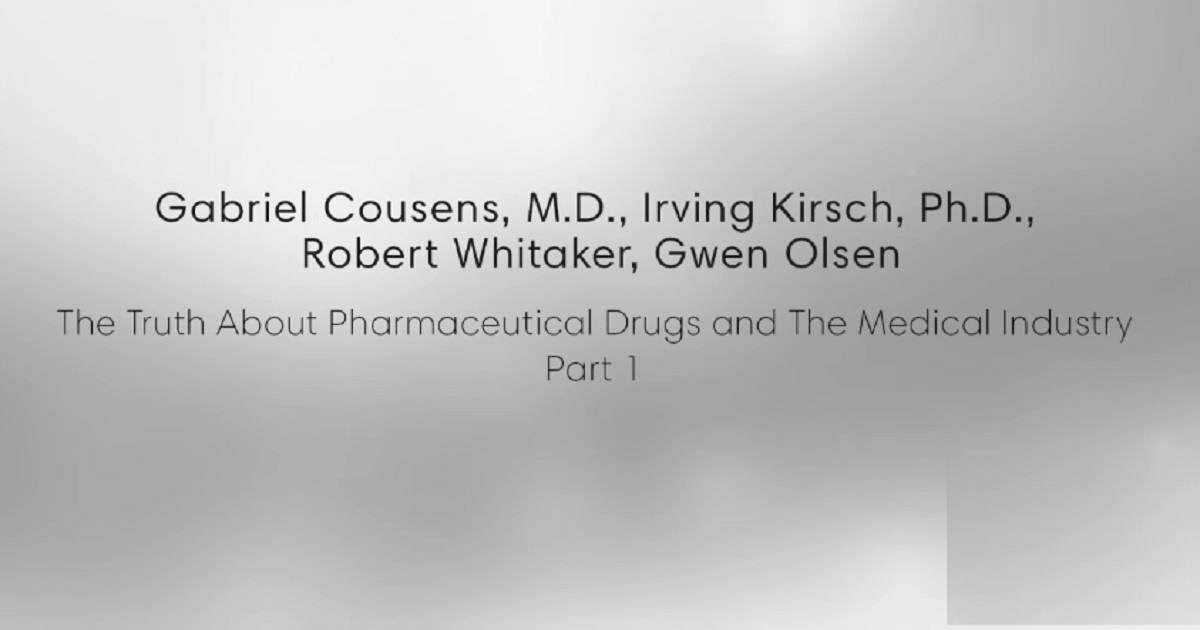 The Truth about Pharmaceutical Drugs and the Medical Industry - Part 1