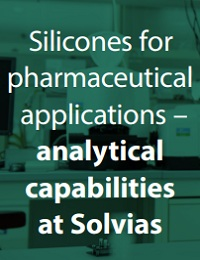 SILICONES FOR PHARMACEUTICAL APPLICATIONS ANALYTICAL CAPABILITIES AT SOLVIAS