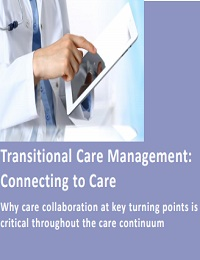 TRANSITIONAL CARE MANAGEMENT: CONNECTING TO CARE