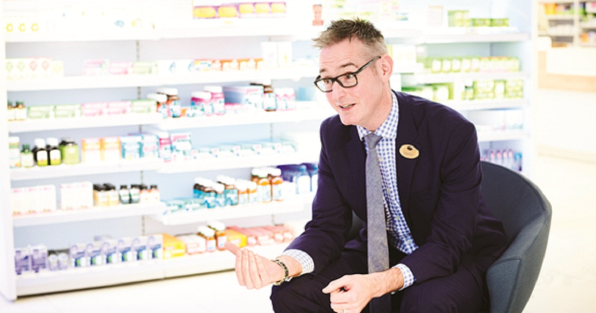 STEPHEN WATKINS: 'WHAT WE'RE DOING IS ABOUT TRANSFORMATION OF PHARMACY'