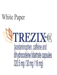 SAFETY PROFILE OF THE ANALGESIC TREZIX, CONTAINING THE MILD OPIOID DIHYDROCODEINE