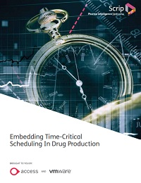 EMBEDDING TIME-CRITICAL SCHEDULING IN DRUG PRODUCTION