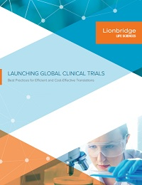 LAUNCHING GLOBAL CLINICAL TRIALS