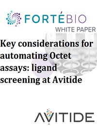 ACCELERATING ANTIBODY DEVELOPMENT WITH AUTOMATED OCTET ASSAYS