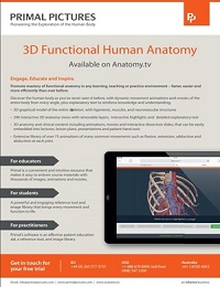 PRIMAL PICTURES: 3D FUNCTIONAL ANATOMY