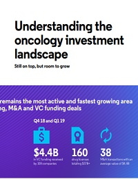 UNDERSTANDING THE ONCOLOGY INVESTMENT LANDSCAPE