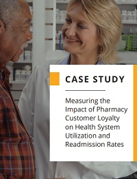 MEASURING THE IMPACT OF PHARMACY CUSTOMER LOYALTY ON HEALTH SYSTEM UTILIZATION AND READMISSION RATES