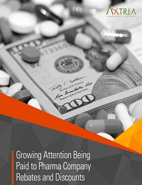 GROWING ATTENTION BEING PAID TO PHARMA COMPANY REBATES AND DISCOUNTS